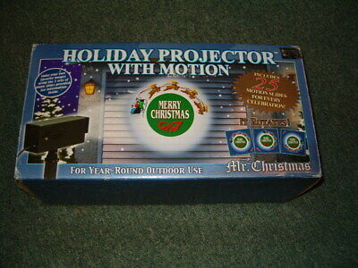 Mr Christmas Holiday Projector With Motion & 20 Discs Easter Christmas  ()