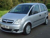 Vauxhall Meriva 1.4i Life 16v , 2006 , ---- 47000 Miles ---- ,.similar2 picasso scenic zafira altea