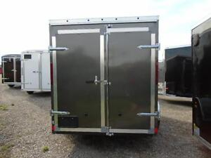GREAT PRICE, GREAT TRAILER! - 6X10 HAULIN WITH WEDGE NOSE London Ontario image 4