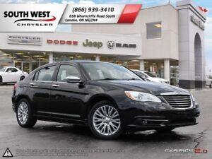 2013 Chrysler 200 | Limited | Leather | Sunroof | Remote Start
