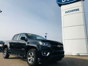 2016 Chevrolet Colorado 4X4, Z71, Leather, NAV, R/Start, Heated
