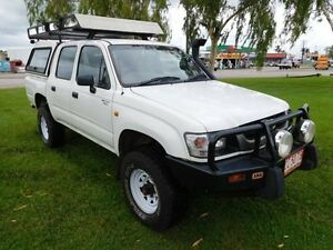 2002 Toyota Hilux LN167R MY02 SR5 White 5 Speed Manual Utility Hidden Valley Darwin City Preview