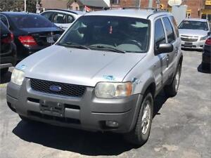 2002 Ford Escape XLT Sport AUTO AC UPGRADED AUDIO CERTIFIED