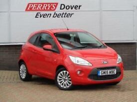 2015 FORD KA HATCHBACK 1.2 Zetec 3dr [Start Stop]