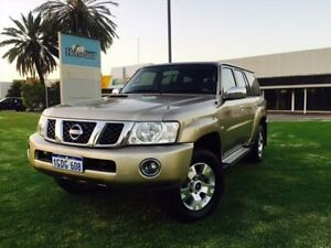 2011 Nissan Patrol GU VII ST (4x4) Champagne 4 Speed Automatic Wagon Maddington Gosnells Area Preview