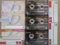 JL CHEAPEST ONLINE 3x TDK D 120 D120 CASSETTE TAPES 1997-2001 W/ CARDS CASES LABELS ALL VGC