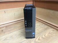 Dell OptiPlex 9010 SFF Quad i7-3770 3.40GHz 8GB DDR3 320GB HDD DVD-RW Win 7