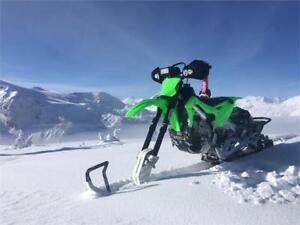 We build Snowbike, put your order in for a 2019 KX 450 Snowbike!