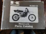 KAWASAKI KX  PARTS BOOK & kv175  & ZZR250 OWNER  MANUALS Dianella Stirling Area Preview