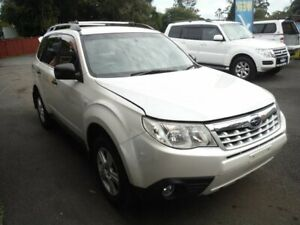2012 Subaru Forester MY12 X Luxury Edition Crystal White Pearl 5 Speed Manual Wagon East Lismore Lismore Area Preview