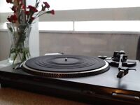 i am selling technics sl-bd22d, amplifier and vintage speakers. 230 pounds