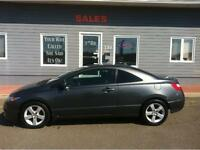 2009 Honda Civic LX Coupe - 5spd, moonroof - ONLY 87000 KMS