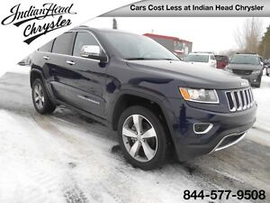 2016 Jeep Grand Cherokee Limited | Leather | Bluetooth | Remote