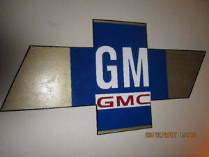 EXTRA LARGE CHEVY/GM/GMC SIGN.