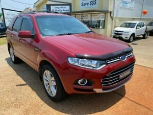 2014 Ford Territory SZ TS (RWD) Red 6 Speed Automatic Wagon Port Macquarie Port Macquarie City Preview