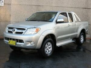 2005 Toyota Hilux GGN25R SR5 (4x4) Silver 5 Speed Manual Dual Cab Pick-up Condell Park Bankstown Area Preview