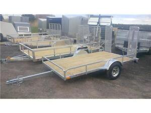 BIGEST AND BEST SELECTION OF GALVANIZED AND ALUMINUM TRAILERS