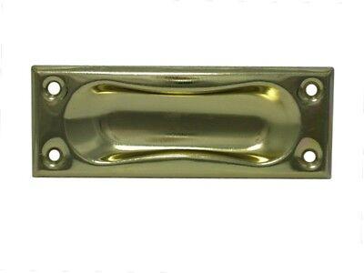 10 x Schiebetürgriff Metall Griff für Schiebetüren Schiebetür vermessingt