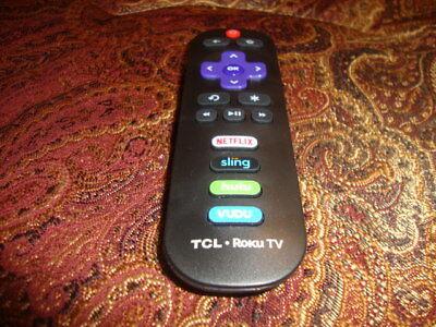 TCL ROKU TV RC280 LED HDTV Remote Control with Hulu Vudu Netflix Sling