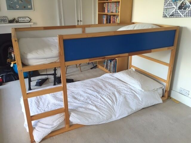 Ikea Kura Reversible Bunk Bed 1 Mattress