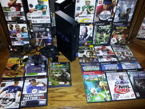 PlayStation 2 with 20 + Games