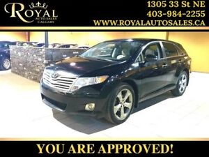 2010 Toyota Venza LEATHER, BACK UP CAM, NAV, BLUETOOTH