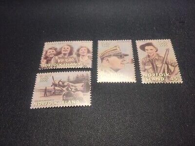 Norfolk Islands stamp 587-590 MH