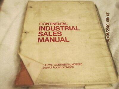 Continental Teledyne Industrial Engine Service Repair Manual 5100 Series Y112
