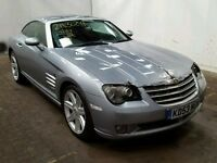 CHRYSLER CROSSFIRE 3.2 SPORTS COUPE, MANUAL, STARTS & DRIVES, LIGHT FRONT DAMAGE, EASY FIX, BARGAIN