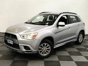 2011 Mitsubishi ASX XA MY11 2WD Silver 6 Speed Constant Variable Wagon Edgewater Joondalup Area Preview