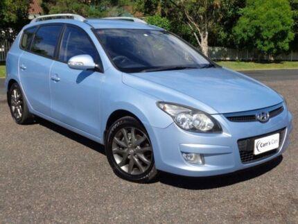 2011 Hyundai i30 FD MY11 SLX Blue Metallic 4 Speed Automatic Wagon Erina Gosford Area Preview