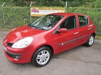 Renault Clio 1.2 Expression TCE 5DR (flame red) 2008
