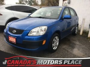 2009 Kia Rio Rio5 EX Rio5 EX- BT/USB/HEATED SEATS LOW KM!!!