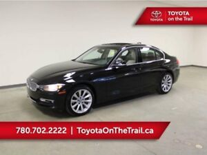 2014 BMW 3 Series 320i; LEATHER, SUNROOF, HEATED SEATS/WHEEL, WH