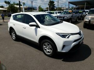 2016 Toyota RAV4 ZSA42R GX 2WD White 7 Speed Constant Variable Wagon Bungalow Cairns City Preview