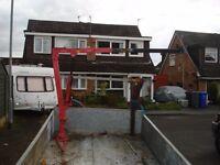 hydraulic lifting hoist 900 kg