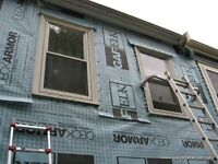 For all your siding and renovation needs no money down