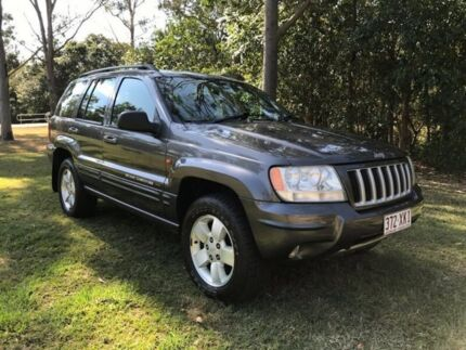 2003 Jeep Grand Cherokee WG MY2003 Limited Metal Grey 5 Speed Automatic Wagon
