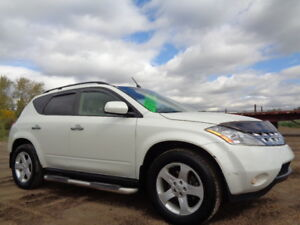 2003 NISSAN MURANO 4DR SL AWD-HEATED SEATS-ONLY 119,000KM