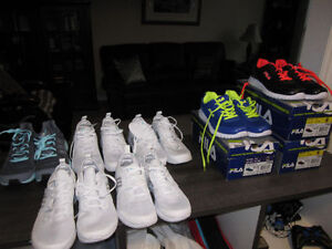 Running Shoes, adidas 7, 7 1/2, 9,10, Fila 6, 7 1/2, Brand New