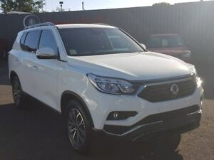 2018 Ssangyong Rexton White Sports Automatic Wagon Hoppers Crossing Wyndham Area Preview