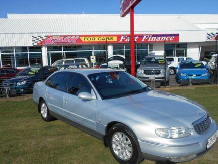 2000 Holden Statesman WH MY2001 Silver 4 Speed Automatic Sedan