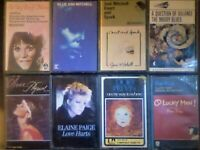 A-Z MELANIE J MITCHELL MOODY BLUES NEWTON-JOHN PAIGE DORY PREVIN A PRICE PRERECORDED CASSETTE TAPES