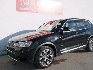 2016 BMW X3 XDRIVE 28I, NAVI, AWD, LEATHER, X3