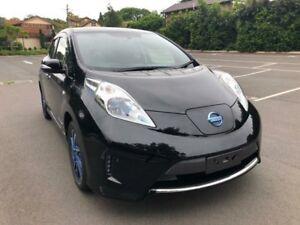 2014 Nissan Leaf ZE0 Black Reduction Gear Hatchback Five Dock Canada Bay Area Preview