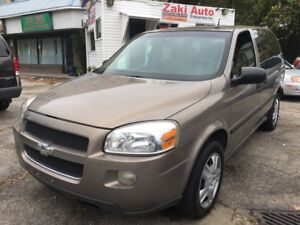2006 Chevrolet Uplander DVD Player LS. Safety And E Test is Incl