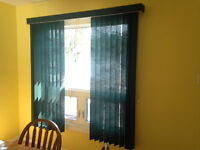 Large Vertical Blinds - Great Condition