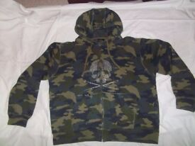 UNIQUE HOODIE by MARC ECKO designer. Size XXL. For men or women. BRAND NEW.