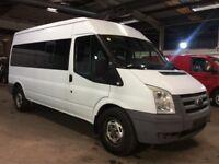 2009 , Ford , Transit , minibus , long wheel base , only 48k , fsh ,