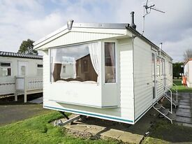 STATIC CARAVAN FOR SALE IN LINCOLNSHIRE EAST COAST, SKEGNESS, AFFORDABLE LUXURY ON A 4 STAR RESORT